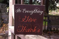HOLIDAY SIGN SALE  Thanksgiving Sign  Custom Wood Sign by Bosheree, $18.00