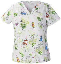Bring a spark of creativity to your nursing uniform with print and graphic scrub tops for women. Order fun scrubs at Scrubs & Beyond today! Cherokee Uniforms, Veterinary Scrubs, Disney Scrubs, Cherokee Woman, Nursing Accessories, Costume, Scrub Tops, V Neck Tops, Pants