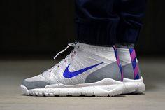 Nike Flyknit Chukka SFB 'Wolf Grey/Blue'