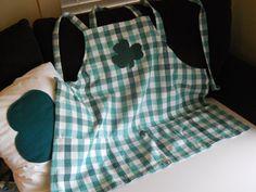 Saint Patricks Chef s apron, adult size, adjustable straps, ready to ship.. $12.90, via Etsy.