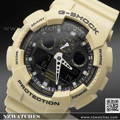 Casio G-Shock Bi-Color Analog Digital 200M Sport Watch GA-100L-8A, GA100L