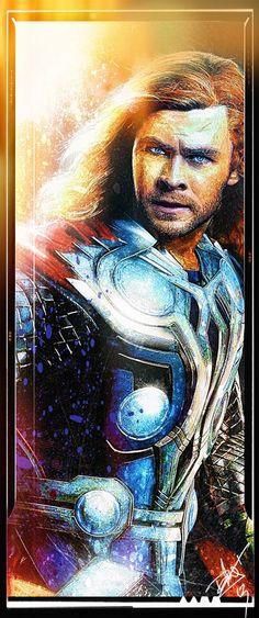 The Avengers - Thor by Daniel Scott Gabriel Murray.