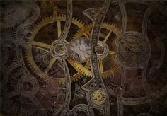 Cole Greyis, steampunk wallpaper v1