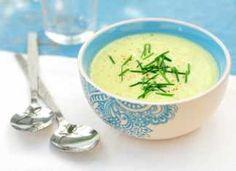 Courgette soep, een heerlijk gezonde soep die snel klaar is