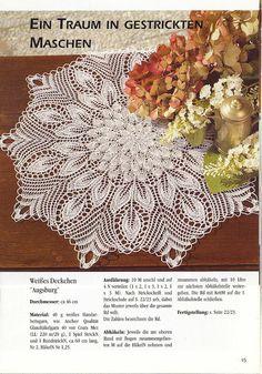 Diana Special - D 109 Strickdeckchen - Alex Gold - Álbumes web de Picasa