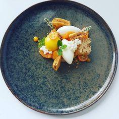 Yogurt | honey | mint | mandarin orange #chefslife #chefsroll #porcelaincanvas #theartofplating #foodartchefs #gourmetartistry #chefsplateform #chefstalk #epicplateup #paitingfood #finediningart #gourmetparadise #foodstarz_official #gastroart #finediningart #thekitchenassassin #greatplates #moffoodlab #ministryofflavour #photooftheday #foodphotography #soignefood #cockandcleaver_soigne #culinaireinspiratie #artonaplate #_artonaplate_ #thestaffcanteen #foodart #foodporn #foodpic…