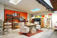 Retail VM | Visual Merchandising | Home Adornment | Retail Design | Shop Design | Anthropologie, London, KingsRoad