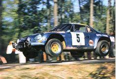 Pour illustrer, voici celle de Thérier (Alpine Renault) , vainqueur en 73: