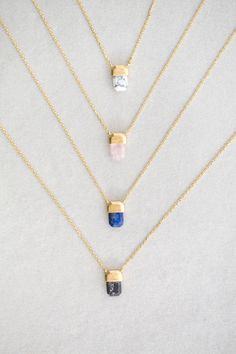 Pendant Stone Necklace