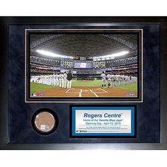Steiner Sports Rogers Centre Mini Dirt Collage