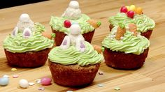 Aktuell! Mit süßer Verzierung - In diesen Muffins steckt ganz viel Ostern! - http://ift.tt/2pqscxh