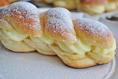 Кремки - пухкави кифли с крем / Cream filled pastries