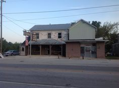 Plank Road Tavern. Does not look like much. A nice place to eat with a family atmosphere.
