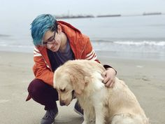 CrankGameplays on Twitter: Me and the beach pup