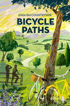 #michaelcrampton #meiklejohn #illustration #digital #stylised #retro #vintage #countryside #landscape