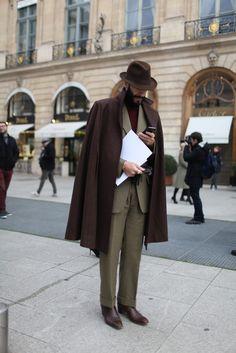 Paris Couture Week street style.