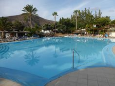 Hotelpool im Esquinzo Beach Hotel http://www.jandia-fuerteventura.de #Fuerteventura #Jandia