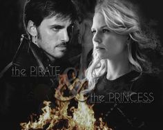 Captain Swan : The Pirate and the Princess - Emma & Hook OUAT