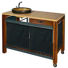 barbecue gaz inox / grand meuble cuisine exterieur | lieux à ... - Meuble Cuisine Exterieur