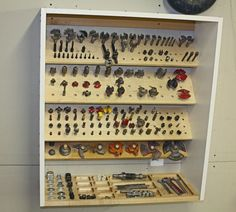 Router Bit Storage Cabinet Build