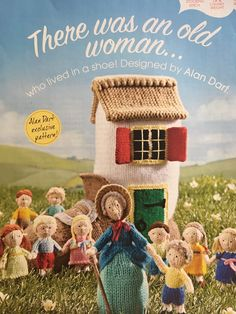 Excited to share the latest addition to my #etsy shop: Alan Dart's There Was An Old Woman Who Lived In A Shoe Knitted Dolls, Crochet Dolls, Knitting Patterns Free, Knit Patterns, Animal Patterns, Pet Toys, Doll Toys, Alan Dart, Simply Knitting