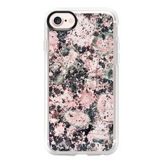 Rustic vintage black pastel pink marble - iPhone 7 Case And Cover (532.400 IDR) ❤ liked on Polyvore featuring accessories, tech accessories, iphone case, apple iphone case, clear iphone case, marble iphone case, iphone cover case and iphone cases