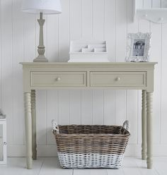 Back to the French Grey hall furniture console table white light house furniture 230