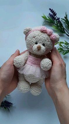 Вязание Крючком Медведь, Вязаные Крючком Животные, Связаные Крючком Куклы, Узоры Для Вязания, Куклы Ручной Работы, Медведи, Куклы Из Ткани, Feltro, Трикотаж