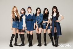 in KStyle Interview 190315 Girls 4, Kpop Girls, Cute Girls, South Korean Girls, Korean Girl Groups, Stage Outfits, Cool Outfits, Gfriend And Bts, Gfriend Album