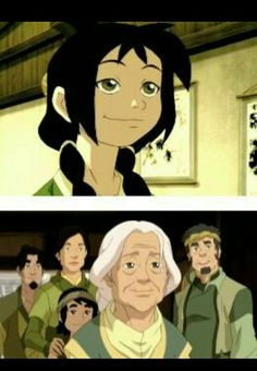 Legend of korra book 3...what what WHAAAT?? is that really her? ...., IT WASNT JUST ME THAT NOTICED
