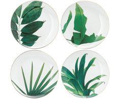 Frühstücksteller-Set Botanical, 4-tlg. Jetzt bestellen unter: https://moebel.ladendirekt.de/kueche-und-esszimmer/besteck-und-geschirr/geschirr/?uid=320e0ad2-f217-5764-9424-ae10436849fc&utm_source=pinterest&utm_medium=pin&utm_campaign=boards #geschirr #kueche #esszimmer #besteck Bild Quelle: westwing.de