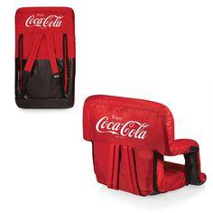Coca-Cola Stadium Seat / Beach Chair - Ventura By Picnic Time