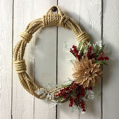 12 Adorable DIY Christmas Wreath Ideas DIY Christmas Wreath Ideas: 12 Easy Crafts (With Pictures! Felt Wreath, Diy Wreath, Wreath Ideas, Crafts With Pictures, Small Candles, Christmas Centerpieces, Yule Decorations, Thanksgiving Decorations, Wreath Forms