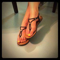 Minnetonka Shoes - Minnetonka black braided minimalist sandals comfy!