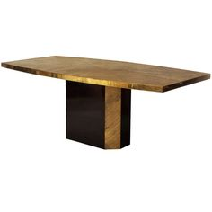 1stdibs | 1970's George Mathias Bronze and Resin Dining Table