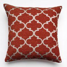 Club Lattice Decorative Pillow - 20'' x 20'' - $14 apiece at Khols online