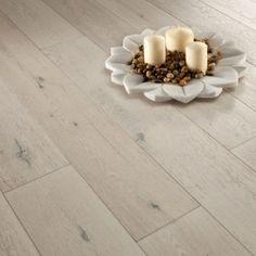 Florence Engineered Polar Oak Brush Matt Lacquered Loc Flooring