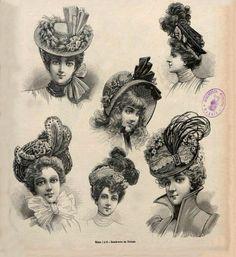 La Ultima moda (1888 - 1927) | Шляпный вернисаж