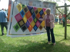Aunt Rose calls this her Ugly Quilt - Not ugly at all!