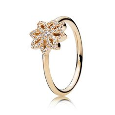 894e10ab1 Cheap Pandora 14ct Gold With Sparkling Cubic Zirconia Lace Botanique Ring  Sale Outlet Pandora Rings For