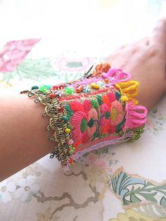 Butterfly Bracelet by AllThingsPretty, via Flickr