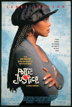 POETIC JUSTICE Movie Poster (1993)