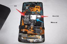 Memorie microSd pe telefoane Nexus