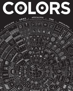 COLORS 84: Apocalypse — A Survival Guide by IdN Magazine , via Behance