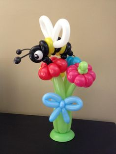 Balloon Bumblebee flower bouquet centerpiece.,#balloon #flower #sculpture #balloon #bouquet #sculpture #balloon #flower #decor #balloon #bouquet #decor #balloon #flower #centerpiece #balloon #bouquet #centerpiece #balloon #flower #twist #balloon #bouquet #twist #balloon #flower #art #balloon #bouquet #art