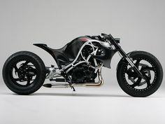 Custom   Suzuki GSX R Hayabusa Serpent By Ransom Motorcycle