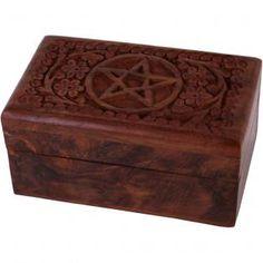 Wholesale Pentagram trinket box - Something Different