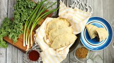 Since these empanadas are hand held, they make an excellent (and healthy) party appetizer or packable lunch | Vegan Sweet Potato and Black Bean Empanadas from Once a Month Meals