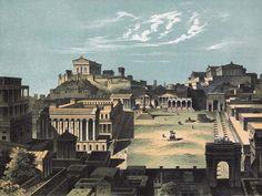 Bild: Carl Votteler - Rom, Forum Romanum