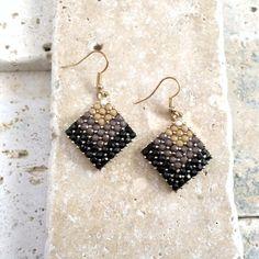 gradient earrings